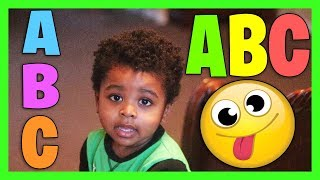 ABC Challenge Kid Learn Alphabet Song Letter Learning English