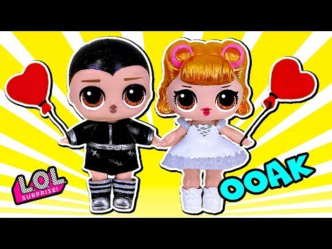 Куклы #лол Невеста и Жених ООАК своими руками. Свадьба #LOL SURPRISE
