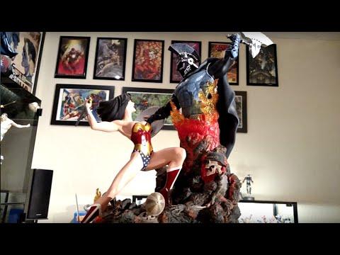Wonder Woman vs. Ares DC Direct Diorama Statue