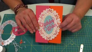 HOW TO MAKE A PARTIAL DIE-CUT | CARDMAKING TUTORIAL