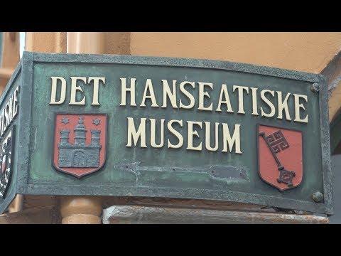 Bergen, Norway tour of Hanseatic Museum