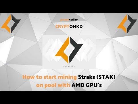 How To Start Mining Straks (STAK) On Pool With NVidia GPU's