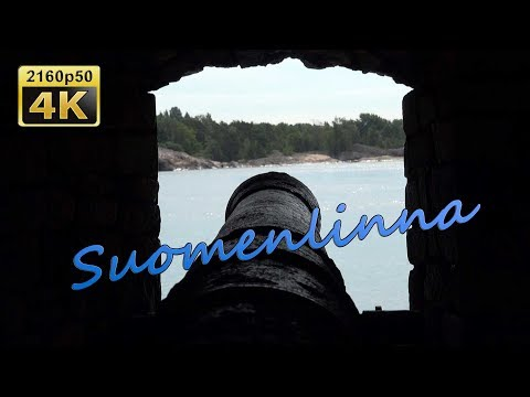 Suomenlinna, the biggest Sea Fortress in the World - Finland 4K Travel Channel