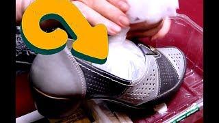 Как растянуть туфли которые жмут