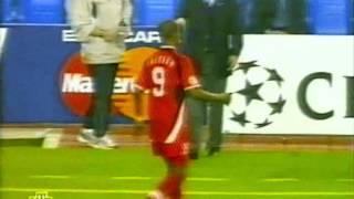 ЛЧ 2001-02 Группа А 1гр этап  2 тур  Реал Локомотив  обзор НТВ