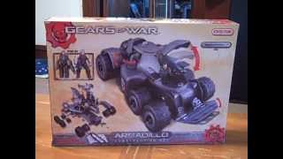 Gears Of War Armadillo Erector Set Unboxing/review