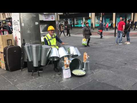 The Techno Tin Bin Man (And His Dancing Cats)