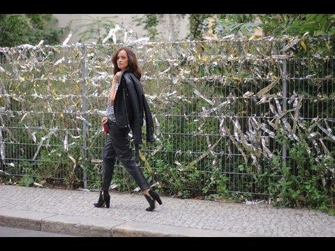 Zara hose leder