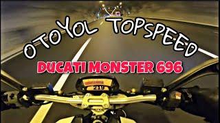 Ducati Top Speed / Monster 696 / Kuzey Marmara Otoyol / Tünelde Tam Gaz