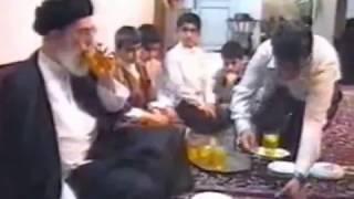 REHBER Misbah Yezdi aqanin evinde