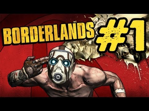 Borderlands Walkthrough: Part 1 - The Journey Begins Commentary PS3 PC Xbox