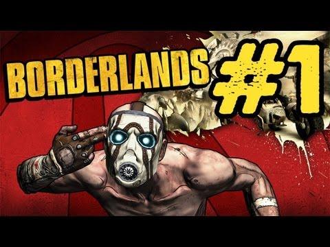 Borderlands Walkthrough: Part 1 - The Journey Begins Commentary PS3 PC Xbox