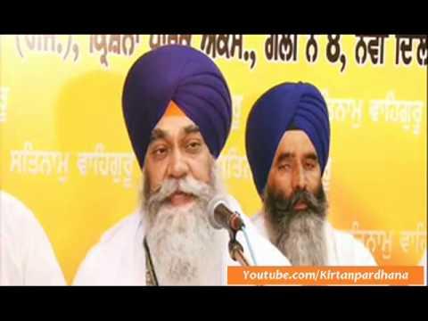 Bhai Inderjeet Singh Ji (Hajuri Ragi,Darbar Sahib) - Krishna Park,New Delhi 1Sep2012