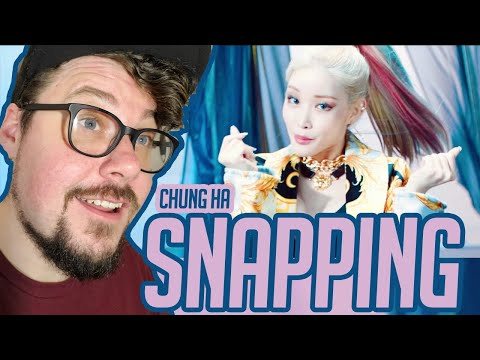 Mikey Reacts to 청하 CHUNG HA - 'Snapping'