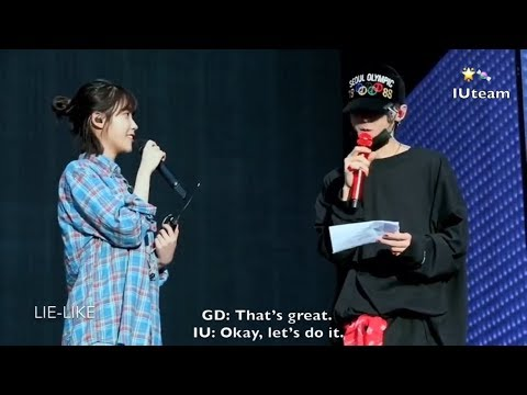[ENG SUB] GD And IU (아이유) Rehearsal For Motte In Seoul (DVD)