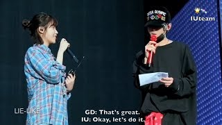 Gambar cover [ENG SUB] GD and IU (아이유) Rehearsal for Motte In Seoul (DVD)