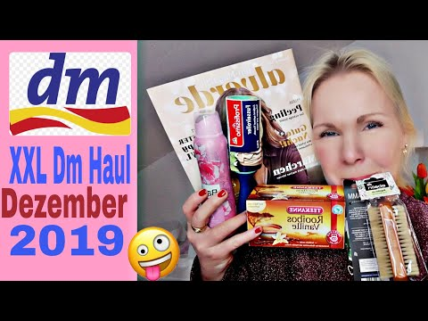 XXL Dm Haul Dezember 2019| Beauty, Haushalt, Pflege