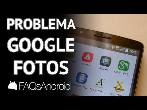 Google Fotos: Problema con subida tras desinstalar