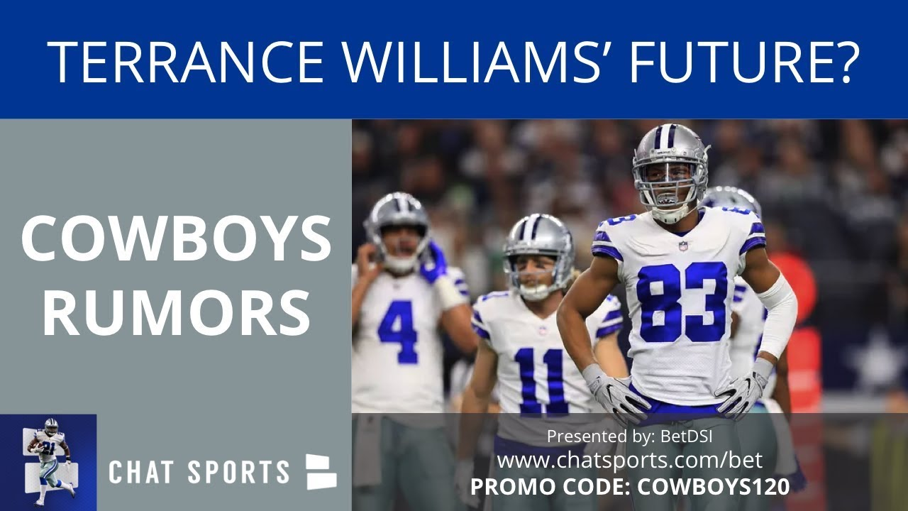 Cowboys Rumors Terrance Williams Future Dez Bryant Return And Le Veon Bell Trade
