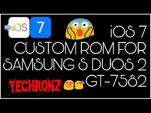 ROM][PORT][4 4 4][V3][STABLE]IOS 7 for Tren… | Samsung Galaxy S Duos 2