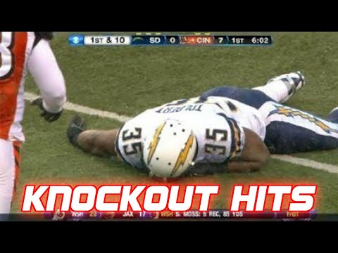 Biggest Knockout Hits in NFL Football History (Part 2)