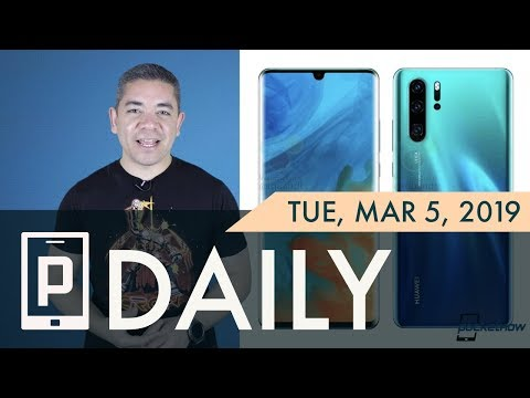 Huawei P30 Pro 10x Lossless Zoom, Galaxy S10 Display King & more - Pocketnow Daily