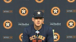 AJ Hinch previews Astros\' ALCS showdown with Red Sox