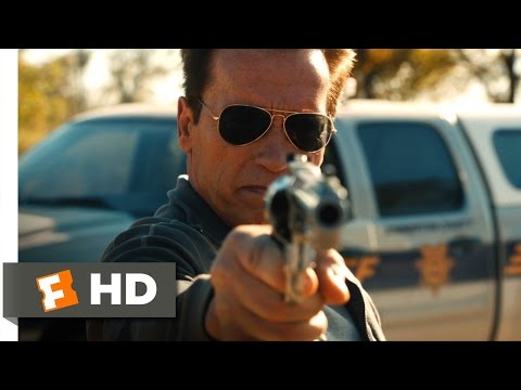 The Last Stand 110 Movie CLIP  She Has a Little Kick 2013 HD