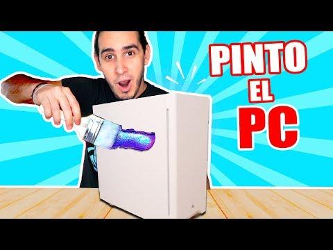 PINTO MI COMPUTADORA !! PERSONALIZACIÓN COMPLETA   Custom PC   HaroldArtist