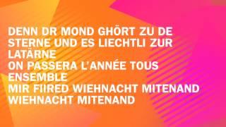Migros Weihnachten - Ensemble - Songtext