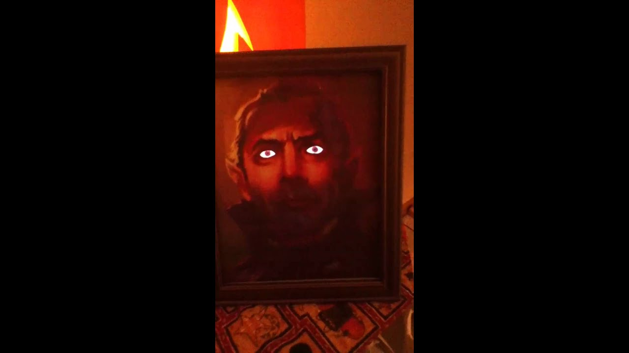 Dracula Picture With Moving Eyes Youtube