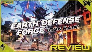 Earth Defense Force Iron Rain Review