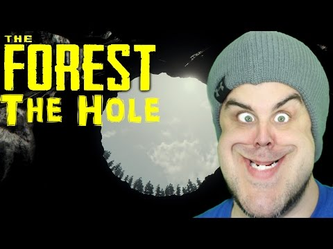 HOW TO GET TO THE BOTTOM OF THE HOLE | The Forest | v0.31