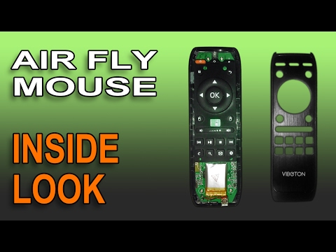 Inside Air Mouse Remote Controller - Quick Look