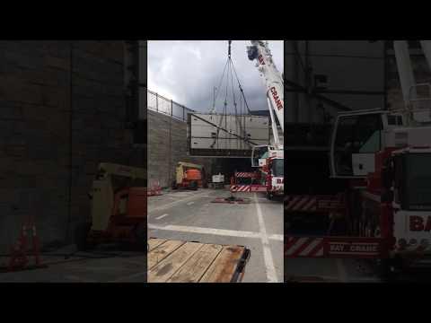 OHL- Judlau Flood Door Installation - Hugh L. Carey Tunnel in New York