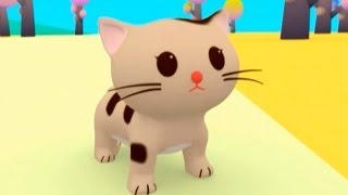 Мультфильмы для Детей - Руби и Йо-Йо - Тигрёнок и Котёнок Китти thumbnail