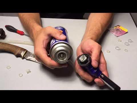 Ремонт походной газовой горелки. Горелка пропускает газ. Газовая горелка не работает