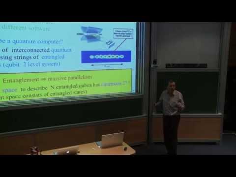 Alain Aspect - De la dualité onde-particule à l'intrication: les deux révolutions quantiques