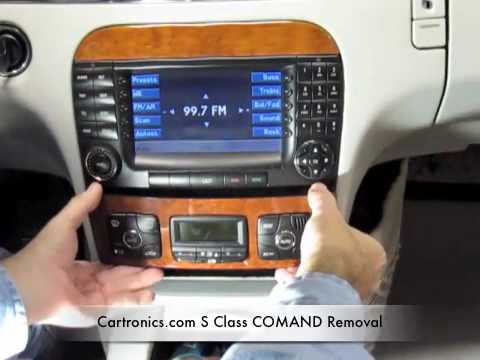 S Class Radio Removal Youtube