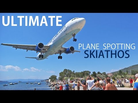 Ultimate Plane Spotting at Skiathos Airport (JSI / LGSK) - Europe's St Maarten