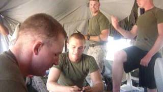 Marine MRE eating contest...