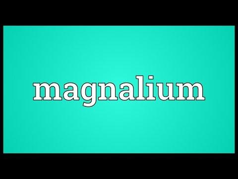 Header of magnalium