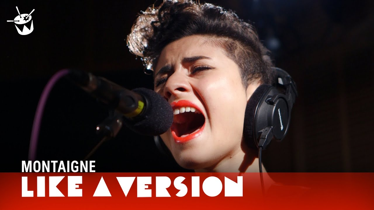 Montaigne covers Sia \'Chandelier\' for Like A Version - YouTube