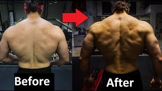 The ULTIMATE Guide To Growing A MASSIVE Back (Full Routine)