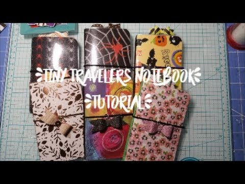 📖 Tiny Travelers Notebook Tutorial 📖
