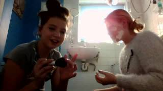 first ever video egg facial - part one