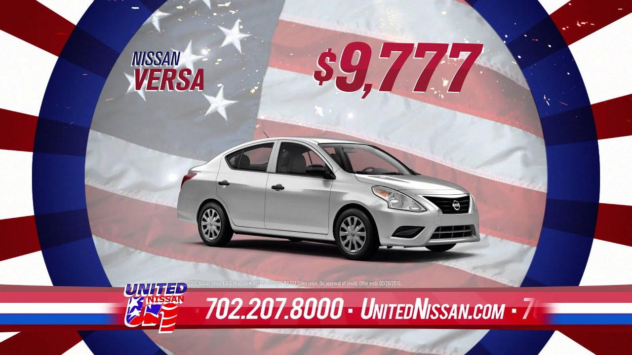 United Nissan | Presidents Day Sale - YouTube