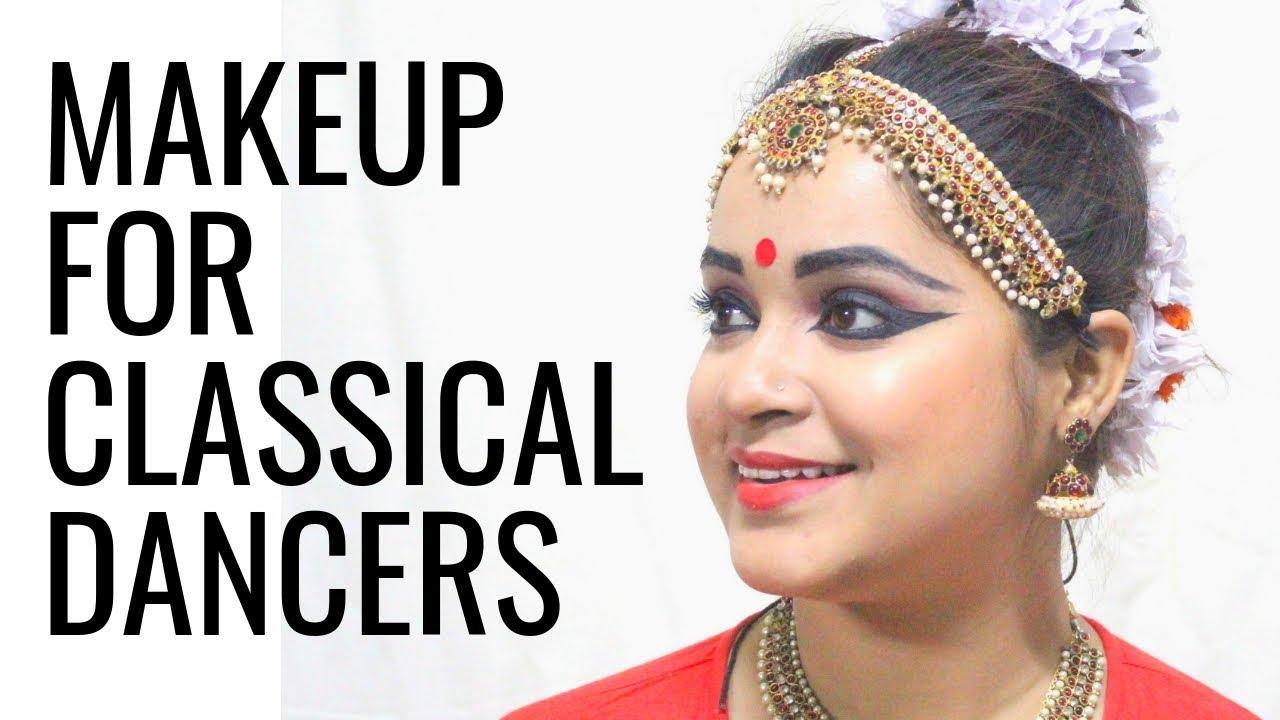 Makeup Tutorial for Classical Dancers | QUICK FIX | Antara Bhadra