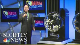 One Lucky Winner Grabs Top Mega Millions $450M Prize   NBC Nightly News