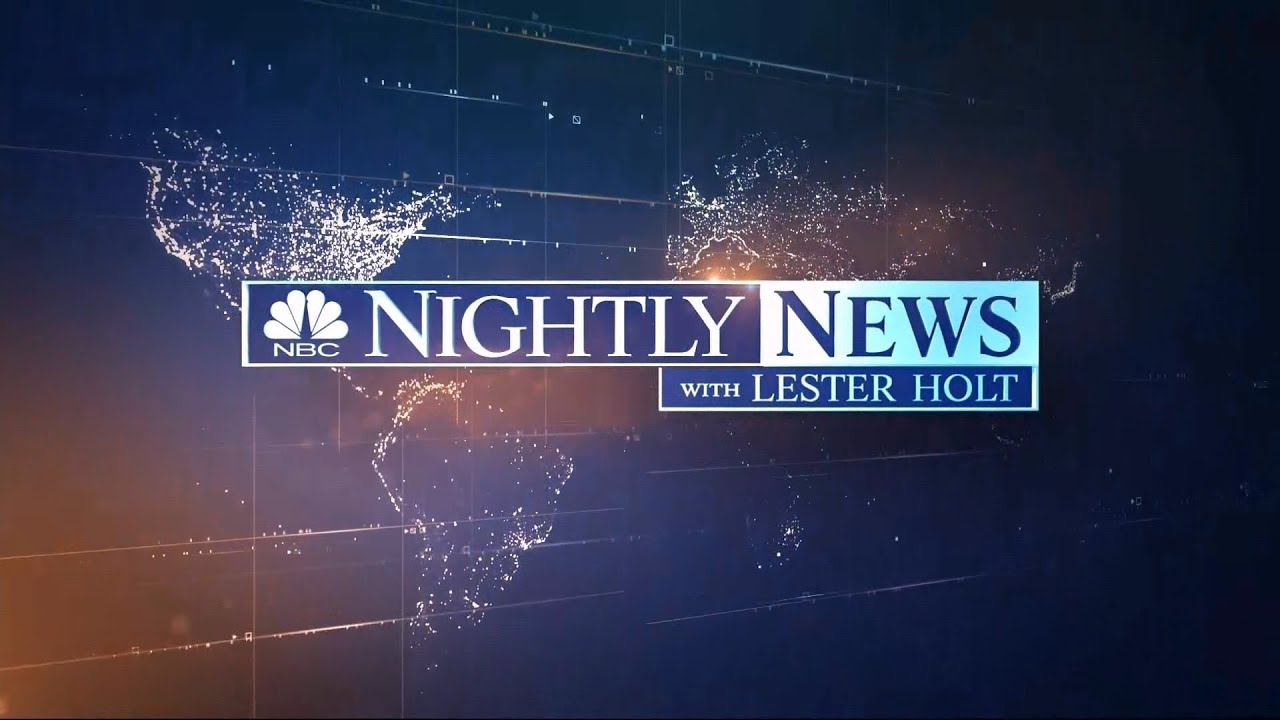 Lester Holt Officially Takes Over NBC Nightly News - HD ...